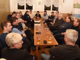 Erster Unternehmerstammtisch in Obergrochlitz