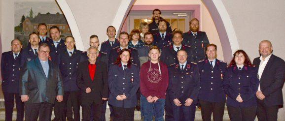 Jahreshauptversammlung der Feuerwehr Obergrochlitz und Vorstandswahl des Feuerwehrvereins