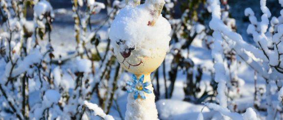 Mit Kälteeinbruch samt Schnee überraschte das Wetter auch die Obergrochlitzer Ende März.