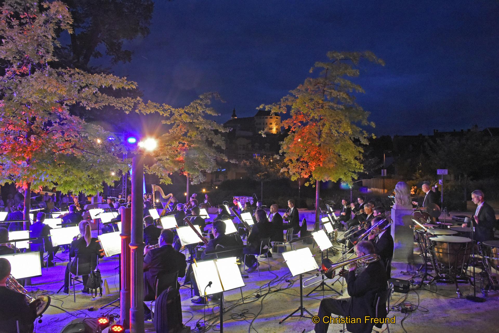 Klassiknacht im Goethepark begeisterte Besucher