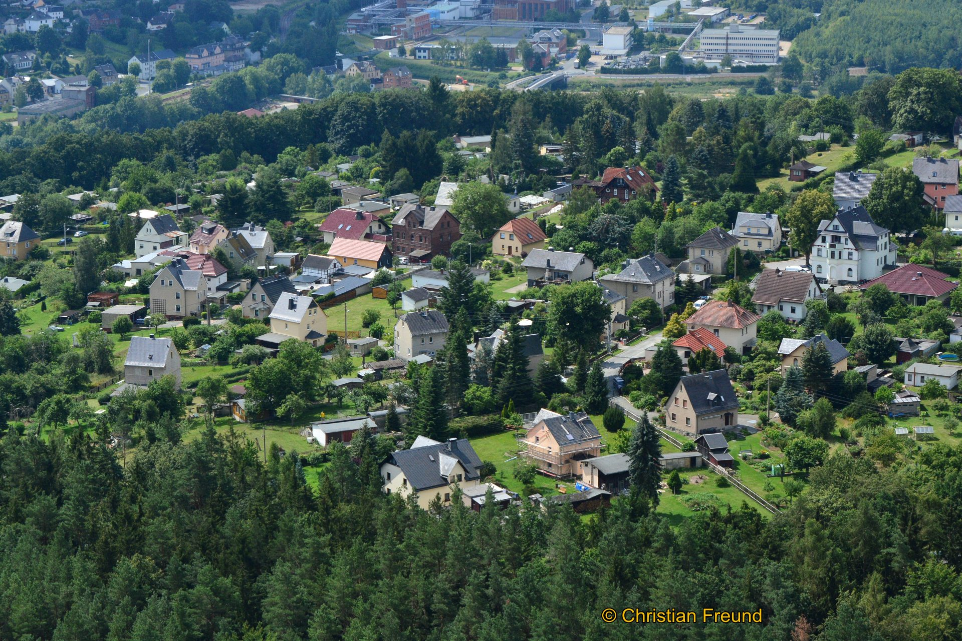 Luftbild Obergrochlitz