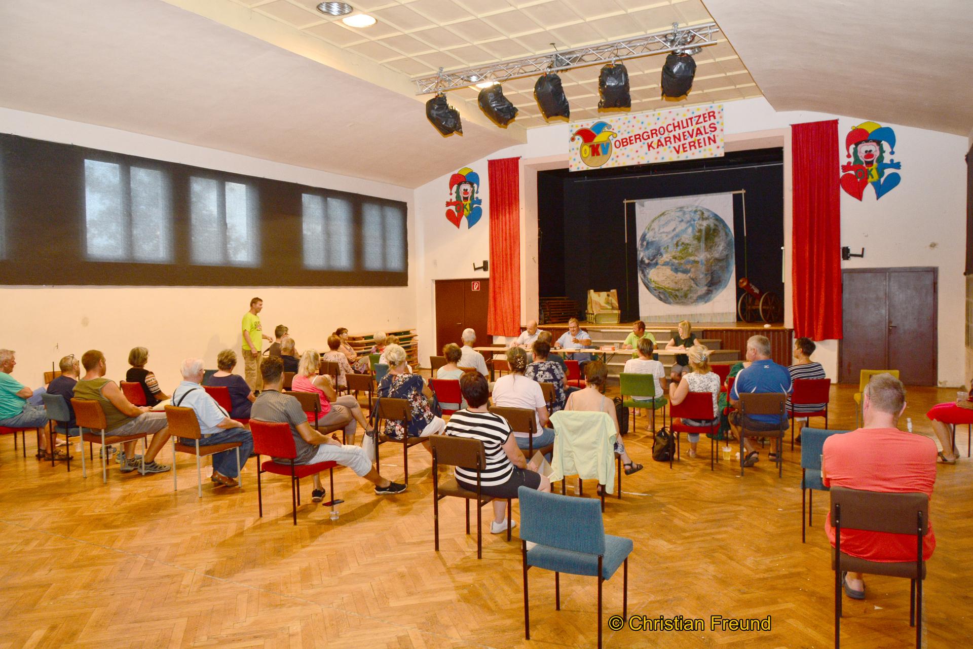 Gut besuchte Obergrochlitzer Bürgerversammlung