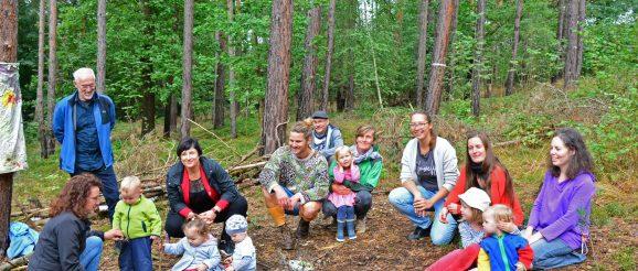 Waldkindergarten in Greiz-Obergrochlitz eröffnet