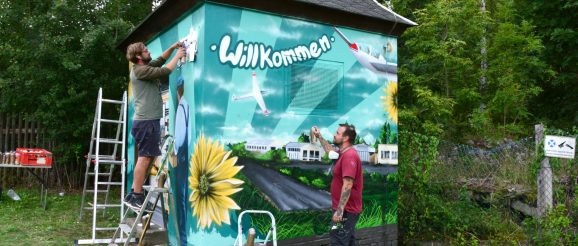 Straßenfest in Obergrochlitz