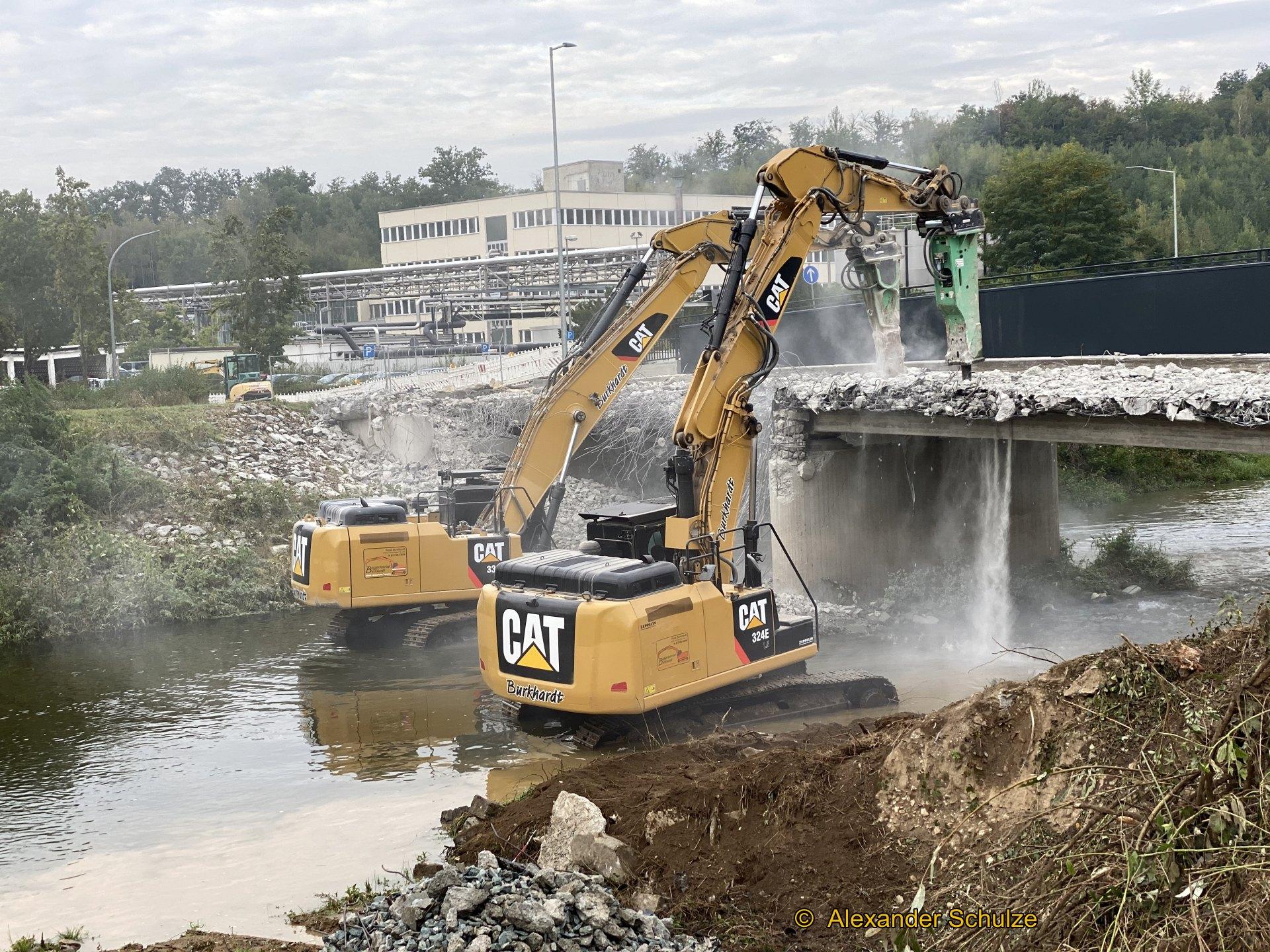 Alte Liebigbrücke abgerissen