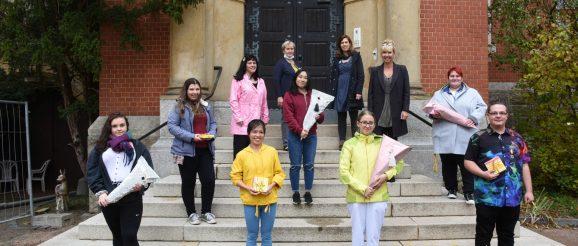 Auszubildende der Greizer Senioren- und Pflegeheim gGmbH begrüßt