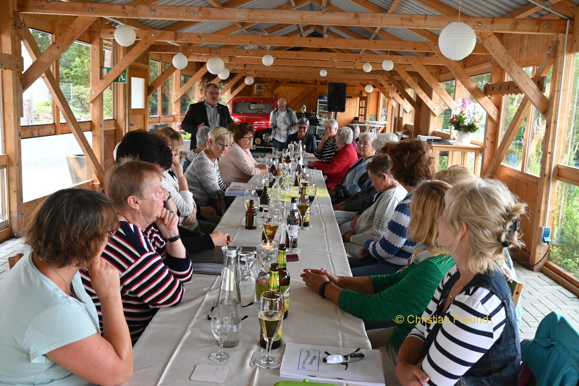 Obergrochlitzer Frauensportgruppe feierte 60-Jähriges